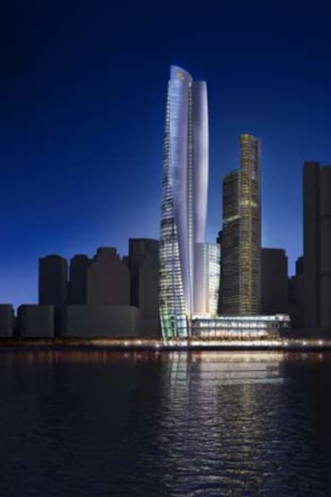In contention:  Wilkinson Eyre Architects' submission.