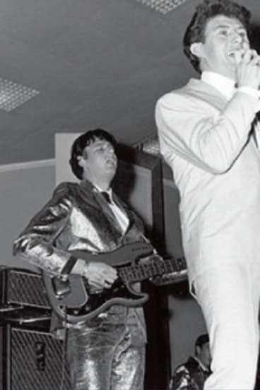 Johnny Chester was a big fixture in the early years of rock'n'roll in Melbourne.