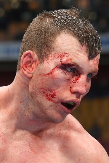 True blood: Jeff Horn is hoping for an easier night at the office when he meets Gary Corcoran for his first title defence in December.