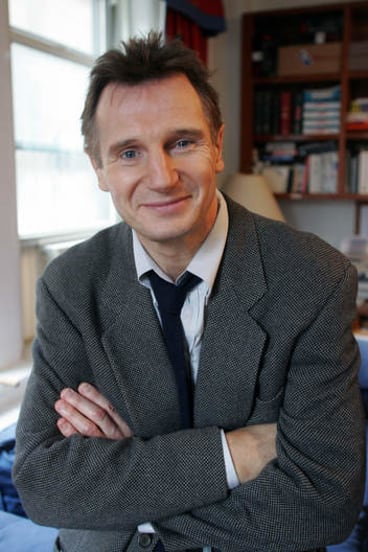 Liam Neeson portraying Alfred Kinsey, the sex researcher of the 1940s and 50s.