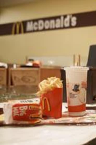 Superflex's <i>Flooded McDonalds</i>, 2009.