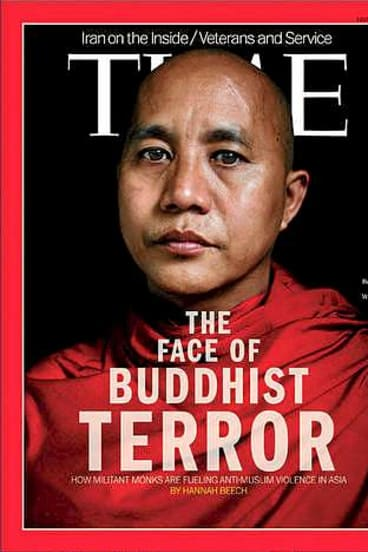 Time out: Myanmar unhappy with this cover.