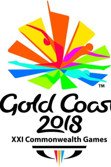 The Gold Coast Commonwealth Games emblem.