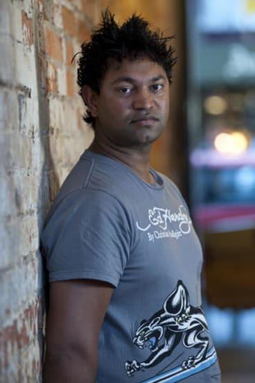 Saroo Brierley in Hobart.
