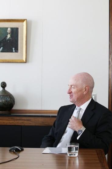 Reserve Bank of Australia governor Glenn Stevens says development of blockchain is important.
