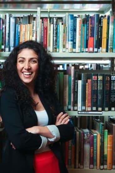 NIDA Open tutor Julia Ohanessian.