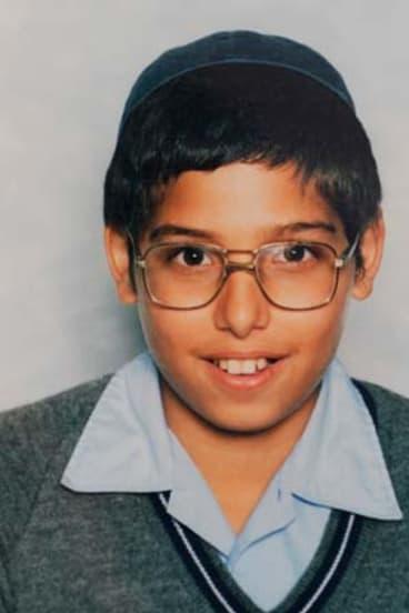 Manny Waks as a schoolboy in 1988.