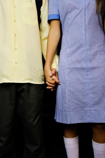 Mixed messages ... younger couples have a warped perception of intimacy and romance.