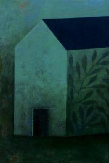 'Sanctuary (Study)', oil on canvas, 30 x 30cm