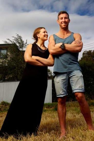 Brock McLean and sister Ellie.