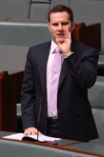 """Liberal MP Alex Hawke says the """"ABC let the team down by entertaining...conspiracies"""" on last week's terror raids."""