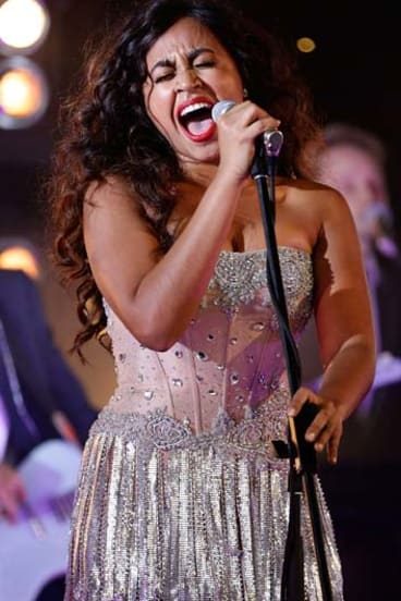 Old song, new twist ... Jessica Mauboy.