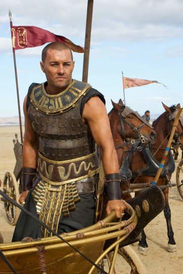 Epic role: As the Egyptian pharaoh Ramses in <i>Exodus: Gods and Kings</i>.