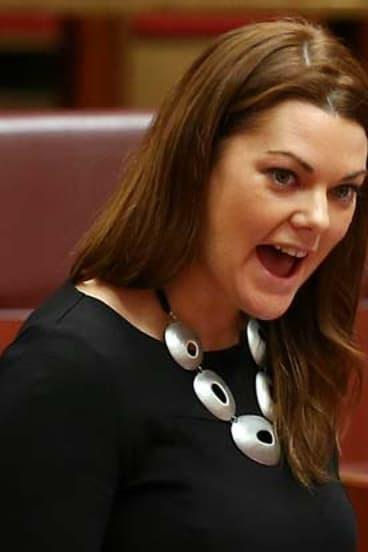 Senator Sarah Hanson-Young.
