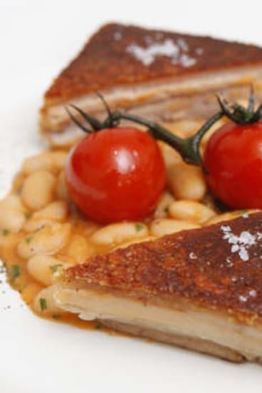 Roman-style pork belly.
