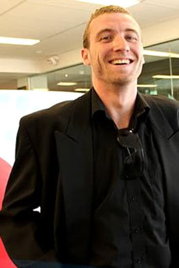 Big Brother fan Tim van der Akker.