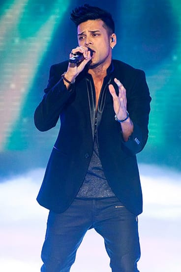 2012 <i>Australia's Got Talent</i> winner Andrew De Silva.