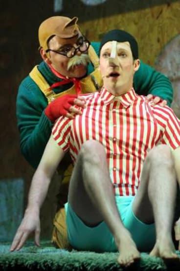 Homegrown: <em>Pinocchio</em> was named Best New Australian Work.