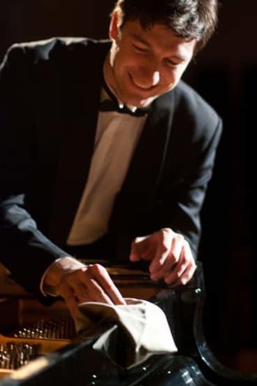 Russian pianist Konstantin Shamray.