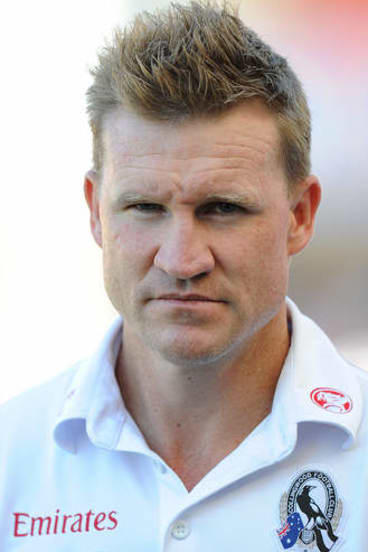 Settled: Nathan Buckley says it's a privilege to coach Collingwood.