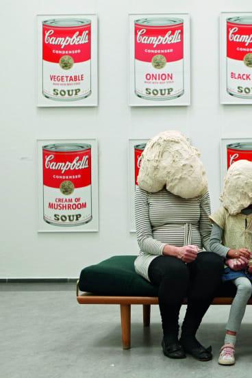 Curator Majbritt Loland and Family, Randers Art Museum, Randers, Denmark, 2014. From Dough Portraits