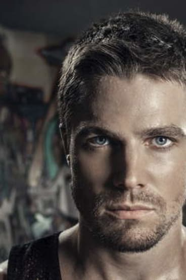 <i>Arrow</i> star Stephen Amell.