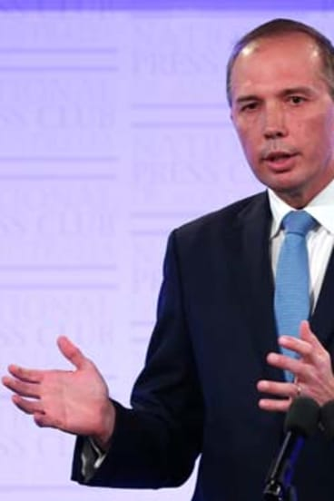 """""""If detected early it's one of the most treatable cancers"""": Peter Dutton."""