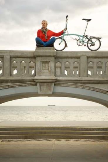 Angharad Wynne-Jones loves the St Kilda foreshore.