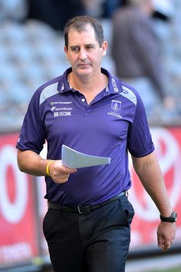 Fremantle coach Ross Lyon.