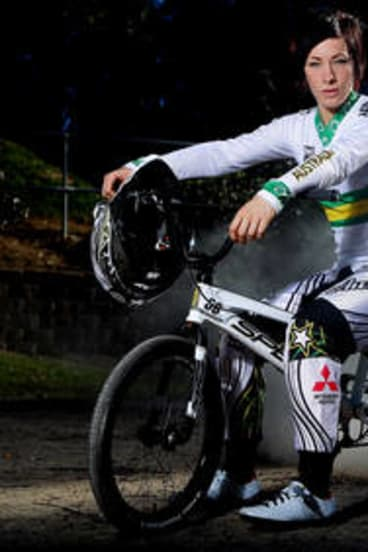 Australian BMX rider Caroline Buchanan.