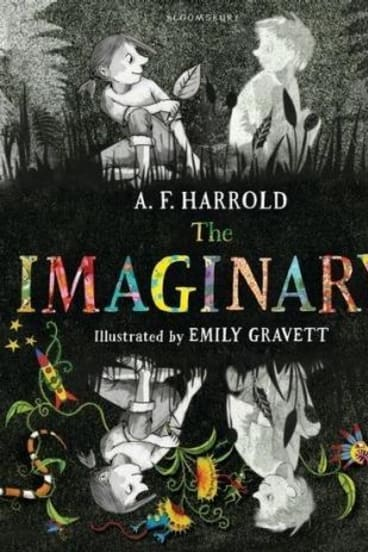 Original: <i>The Imaginary</i> by A.F. Harrold, Illustrated by Emily Gravett.