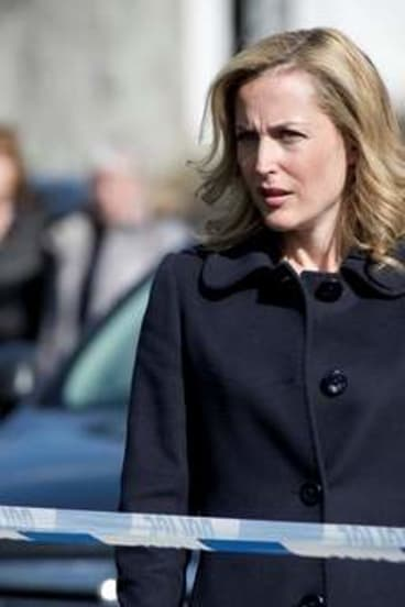 Gillian Anderson as Stella Gibson in <i>The Fall</i>.