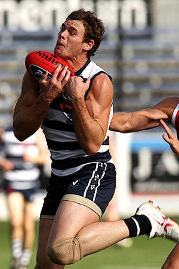 Cameron Mooney in action in the VFL.