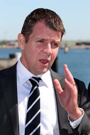 'Good news story': Treasurer Mike Baird.