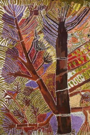 Hector Burton's <i>Punu Ngura — From the Trees</i>.