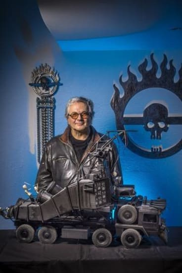 Future shock: It took only minutes for George Miller to be inspired to make <i>Fury Road</i>. It took 12 years to bring it to the big screen.