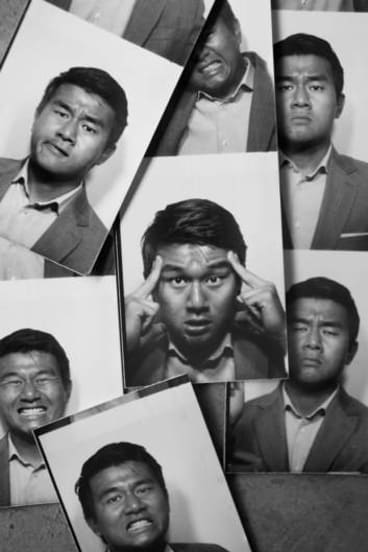 Sino suave: The many faces of comedian Ronny Chieng.