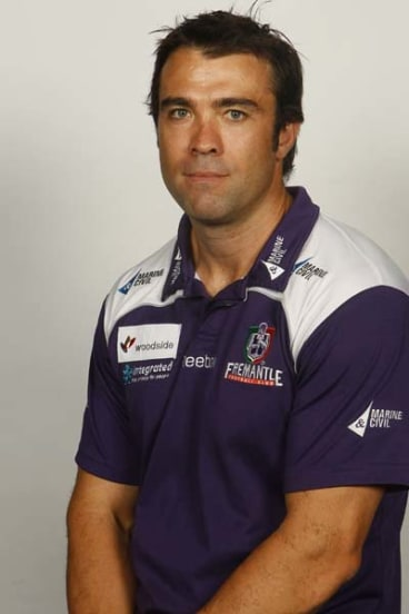 Chris Scott, 2010 Fremantle assistant coach.