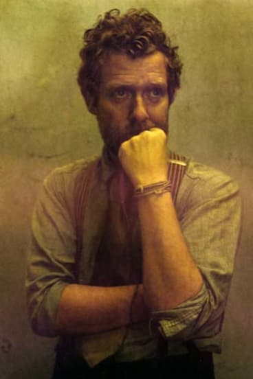 Just some guy: Glen Hansard is humbled by comparisons with the likes of Bob Dylan.