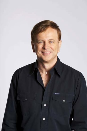 Light in the dark: ABC <i>Nightlife</i> host Tony Delroy.