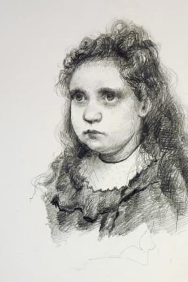 Steve Cox: <i>Study of a Young Girl</i> (for William Holman Hunt), 2014.