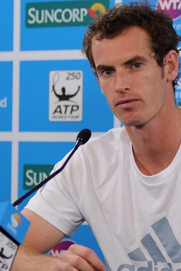 British tennis star Andy Murray.
