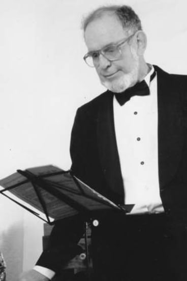 Rigorous: Sandy Newman was known as a conductor of skill and intensity.