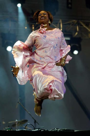 Malian musician Oumou is also on the banned list.