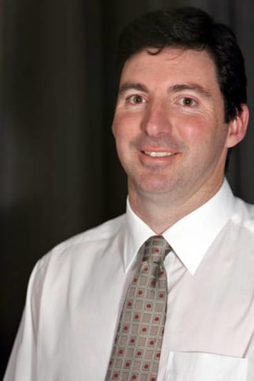 Former AFP cyber cop turned computer security consultant Nigel Phair.