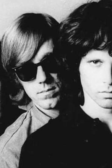Ray Manzarek and Jim Morrison.