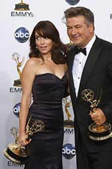 Tina Fey and Alec Baldwin.