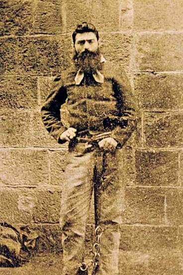 Ned Kelly: 'Ah well, I suppose it has come to this.'