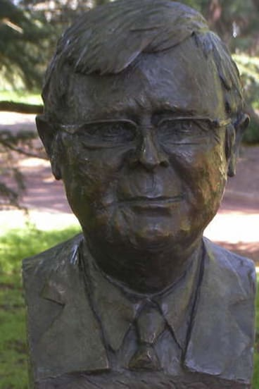 Bust by Peter Nicholson.