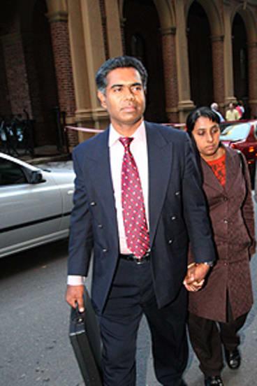 Shunned conventional treatment ... Thomas and Manju Sam.